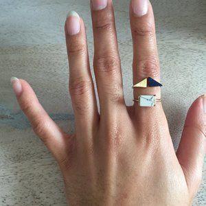 Geometric and Marble - like Rings